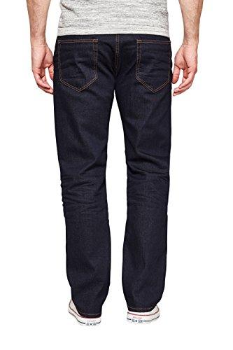 next Uomo Jeans Elasticizzati Scuri Vestibilità dritta Blu