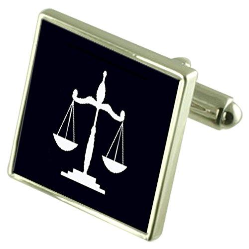 Skalen der Jsutice Rechtsanwalt graviert Andenken Meldung -