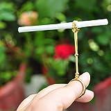 Majome 1 Pcs Bague En Métal Anneau Support De Cigarette Clip Doigt Main Fumer Accessoires Cadeau