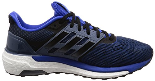 adidas Herren Supernova M Laufschuhe Grau (Hi-res Red S18/core Black/raw Steel S18)
