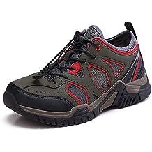YY Hombres Al Aire Libre Zapatos De Senderismo Antideslizante Respirable Secado Rápido Zapatos De