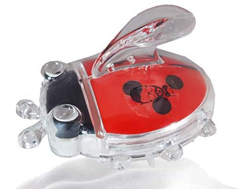 Masseur Tete coccinelle, SAKKAL Brosse Shampooing Massage Cuir Chevelu Peigne Relaxation Tête Shampoing Exfolie Retire les Peaux Mortes nettoyage