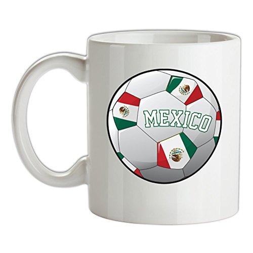 Dressdown WM 2018 Fussball - Mexiko - Bedruckte Kaffee- und Teetasse - El Tri De Mexico