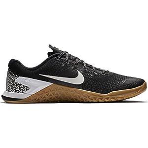 Nike Metcon 4, Chaussures de Gymnastique Homme, Nero (Black/White/Gum Med Brown 006), 42.5 EU