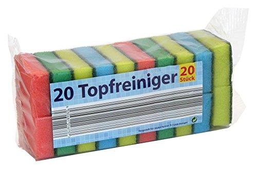 Topfreiniger 20er Pack Schwämme/Haushalt