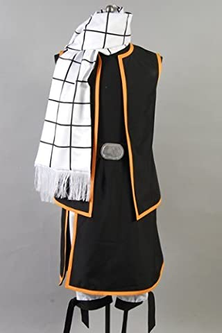 Fairy Tail Costume Natsu - Fairy Tail Natsu Dragneel Cosplay Costume, taille