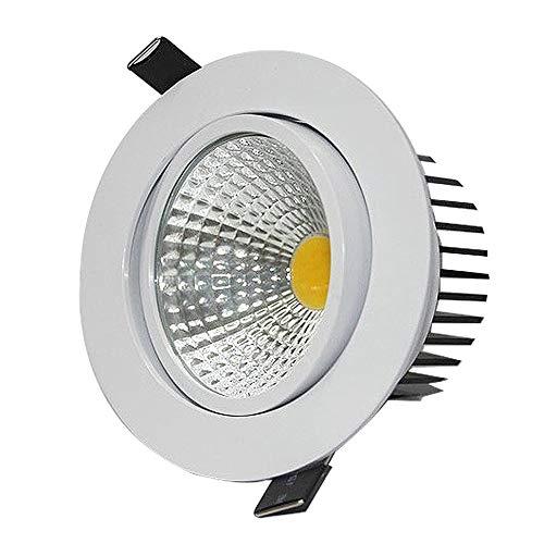 BEDKING 3 watt / 7 watt COB Runde Einbauleuchte Energiesparende Blendschutz Wohnzimmer Bekleidungsgeschäft Korridor Eingebettet Scheinwerfer Wohnzimmer Schlafzimmer Downlight -