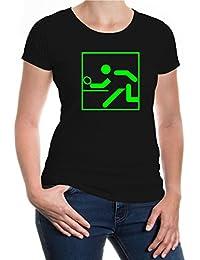 Girlie T-Shirt Table Tennis-Pictogram