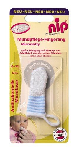 nip Mundpflege-Fingerling Micosofty 37070 blau