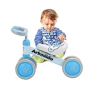 41o22x yILL. SS300 Bicicletta per Bambini 1-3 Anni, Bicicletta Equilibrio Bambino, Triciclo Senza Pedali, Prima Bici (Blu)
