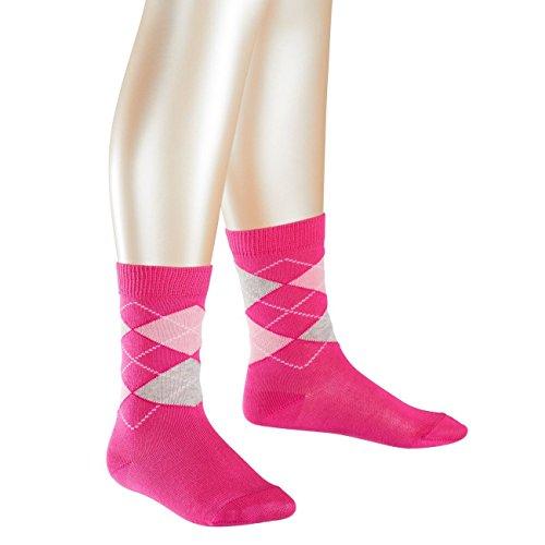 Preisvergleich Produktbild Falke Children Casual Socken Classic Argyle 6er Pack, Größe:19-22, Farbe:Pink (8553)