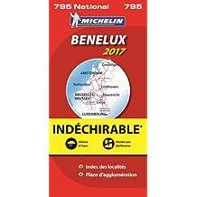 Carte Benelux Indéchirable Michelin 2017