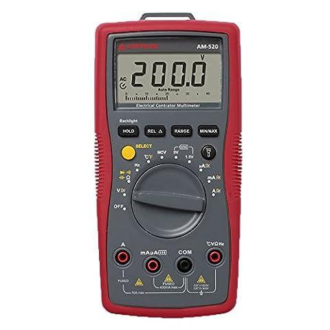 Multimètre numérique Beha Amprobe AM-520-EUR CAT II 1000 V, CAT III 600 V Affichage (nombre de points):4000