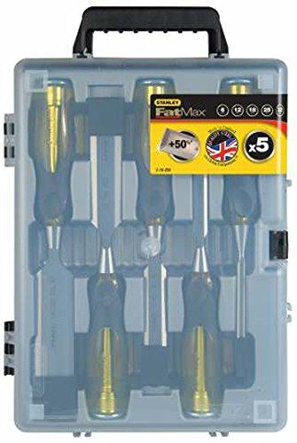 Preisvergleich Produktbild FatMax™ Stechbeitel Set 5-Teilig - 16-271 mit durchgehender Klinge und Schlagkappe 6/10/15/20/25 mm