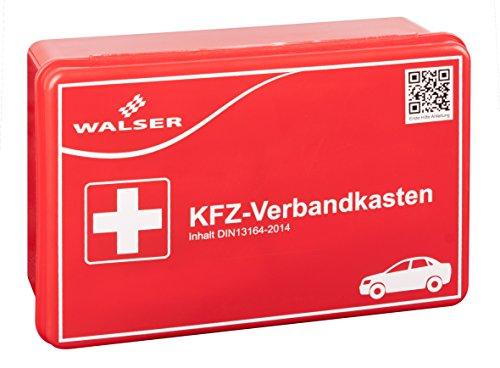 Preisvergleich Produktbild Walser 44263 KFZ Verbandskasten, Rot