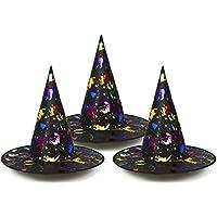 COM-FOUR® 3X Cappello da Strega per Costume da Bambino per Carnevale 34c4277cc70f