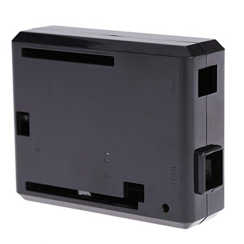 Preisvergleich Produktbild KKmoon Schutzhülle Fall für UNO-R3 Development Board Gehäuse Schale Case für Neuer Computer Box Kompatibel Arduino UNO R3 Schwarz