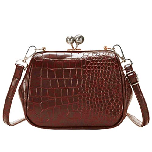 Mitlfuny handbemalte Ledertasche, Schultertasche, Geschenk, Handgefertigte Tasche,Damenmode Einfache Freizeit Haspe Single Shoulder Messenger Bags