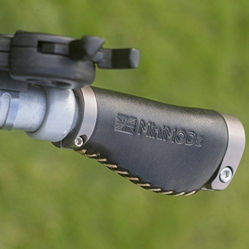 BROMPTON - Puños cortos ergonómicos para manillar (tipo M/H/S), color negro