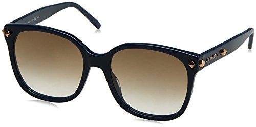 Jimmy Choo Damen DEMA/S XY Z0A 56 Sonnenbrille, Blau (Bluette/Light Brwn Sf),