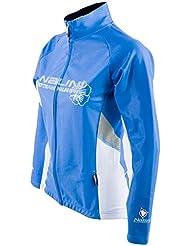 Nalini ciclismo chaqueta mujer chaqueta AUCUBA celestial blanco