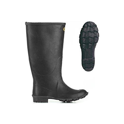 Stivali in gomma - 7266-ginocchio Padus Black