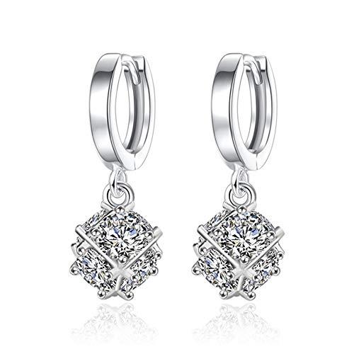 Animolulu Diamond 925 Sterling Silber Ohrstecker