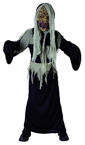 Generique - Monster Kostüm für Jungen grau-schwarz 134/140 (10-12 Jahre)