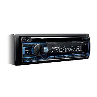 Alpine-Electronics-CDE-205DAB-Autoradio-DAB-1DIN-Schwarz-RGB-Beleuchtung