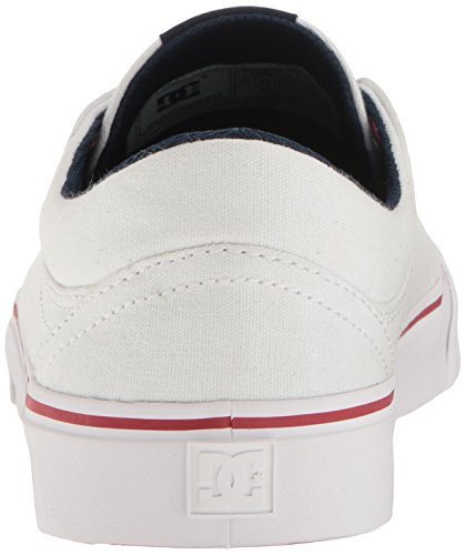 DC Shoes Trase Tx, Baskets mode homme White/Red