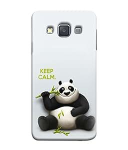 PrintVisa Designer Back Case Cover for Samsung Galaxy A3 (2015) :: Samsung Galaxy A3 Duos (2015) :: Samsung Galaxy A3 A300F A300Fu A300F/Ds A300G/Ds A300H/Ds A300M/Ds (Keep calm Kungfu panda)