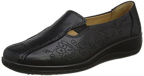 Venture, Chaussures à Lacets Homme - Noir - Noir (Noir), 43Hotter