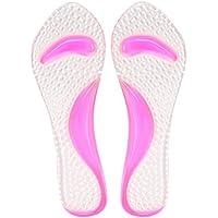 ROSENICE Damen Transparent Gel Einlegesohlen Rutschfest Fersenschutz Fußbogenstütze Atmungsaktiv Selbstklebende... preisvergleich bei billige-tabletten.eu