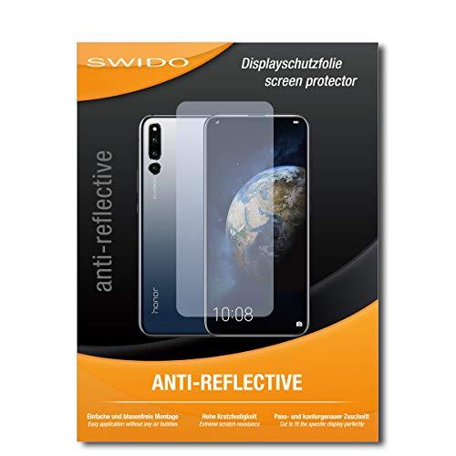 SWIDO Schutzfolie für Huawei Honor Magic 2 [2 Stück] Anti-Reflex MATT Entspiegelnd, Hoher Härtegrad, Schutz vor Kratzer/Folie, Displayschutz, Displayschutzfolie, Panzerglas-Folie