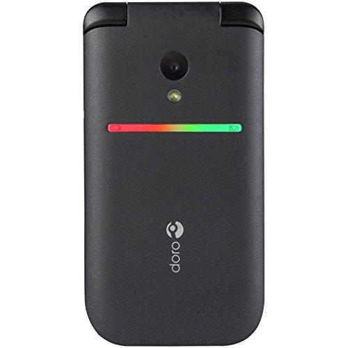 Doro PhoneEasy 609 96g Negro - Tel fono M vil Concha SIM nica 2 MP Bluetooth 800 mAh Negro