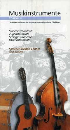 STREICHINSTRUMENTE ZUPFINSTRUMENTE - arrangiert für CD-ROM 2 [Noten / Sheetmusic] Komponist: MUSIKINSTRUMENTE 2