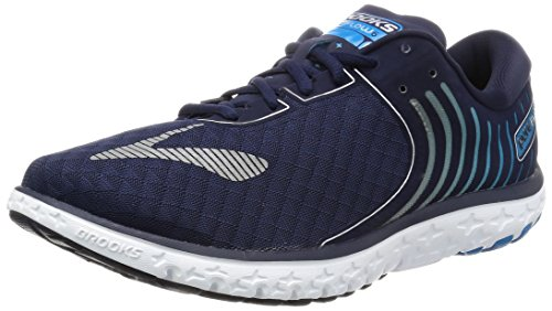 Brooks Herren Pureflow 6 Laufschuhe Blau (Peacoat/methyl Blue/silver)