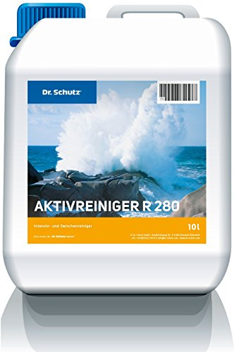 Preisvergleich Produktbild Dr.Schutz Aktivreiniger R 280 (D / F) 10 ltr. Bauschlussreinigung sofort lieferbar