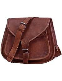 "Leather bags Women's Leather Shoulder Handbag Messenger Bags Satchel Tote Purse Bags 13"""