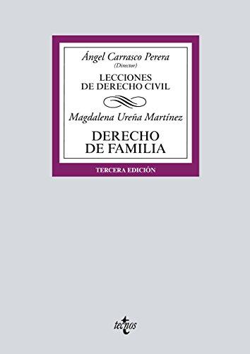 Derecho de Familia (Derecho - Biblioteca Universitaria De Editorial Tecnos) por Magdalena Ureña Martínez
