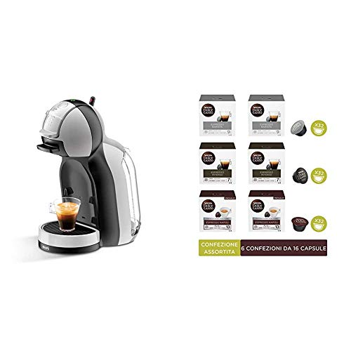 Nescafé Dolce Gusto Mini Me KP123BK + Nescafé Dolce Gusto Confezione Assortita Caffè Espresso