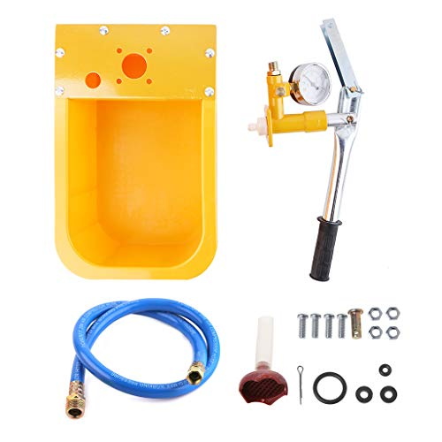 VvXx Wasserdruckprüfer, Pumpe, 2,5 MPa Pipeline Tester 25 kg manueller Hydraulikprüfer Pumpe -