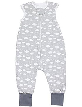 TupTam Unisex Babyschlafsack mit Beinen Unwattiert