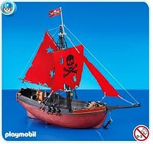 Playmobil 7518 vaisseau corsaires jeux et jouets for Barco pirata playmobil