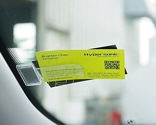 Hypersonic Auto Windschutzscheibe Ticket Halter Behindertenausweis und Note Clips