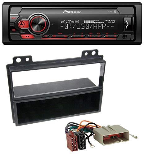 caraudio24 Pioneer MVH-S310BT Bluetooth AUX MP3 USB Autoradio für Ford Fiesta Fusion (2002-2005) -