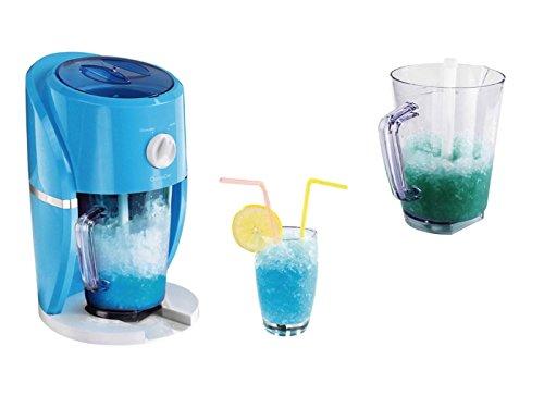 2in1 Slushy Maker Elektrischer Eiscrusher für Grobes und Feines Eis (Slush-Ice-Maker, Eismaschine, Crushed-Eis-Maschine, Slusheis)
