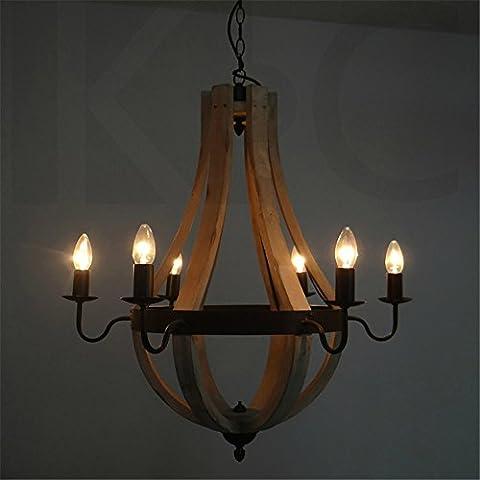 Les pays nordiques en bois antique fer à repasser salon light tête six chandeliers lustres bougies west restaurant