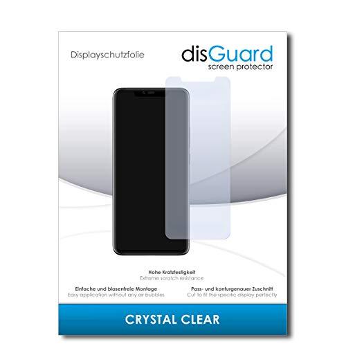 disGuard® Bildschirmschutzfolie [Crystal Clear] kompatibel mit Huawei Mate 20 RS Porsche Design [2 Stück] Kristallklar, Transparent, Unsichtbar, Extrem Kratzfest, Anti-Fingerabdruck - Schutzfolie