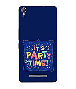 Fuson Designer Back Case Cover for Micromax Canvas Juice 3 Q392 (Partying Enjoy Graphics Guys Girls After College)